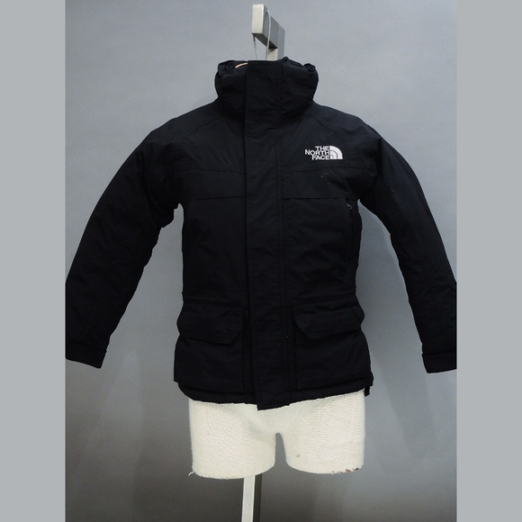 The North Face Other - Boy's North Face Gotham coat XS/TP black with hood